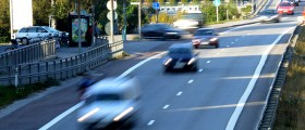 Bild på trafik