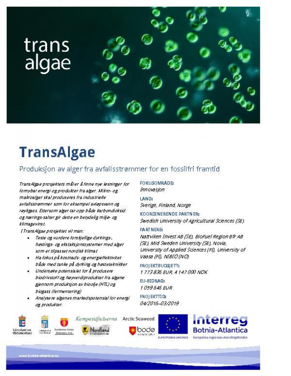 TransAlgae-plakat-norsk