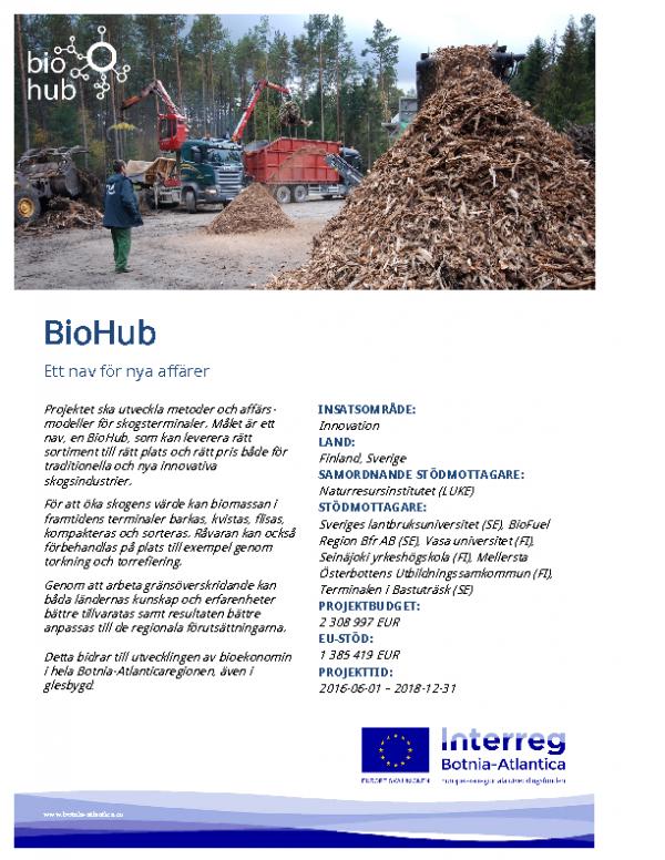 2016-11 BioHub Affisch