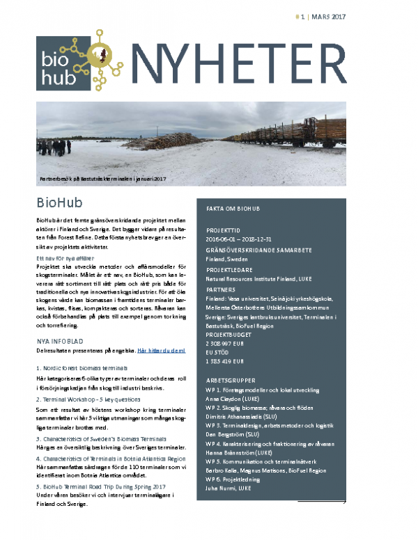 2017 Nyheter BioHub Nr 1