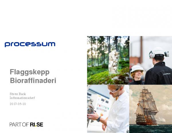 2017-05-10 Flaggskepp Bioraffinaderi_Processum