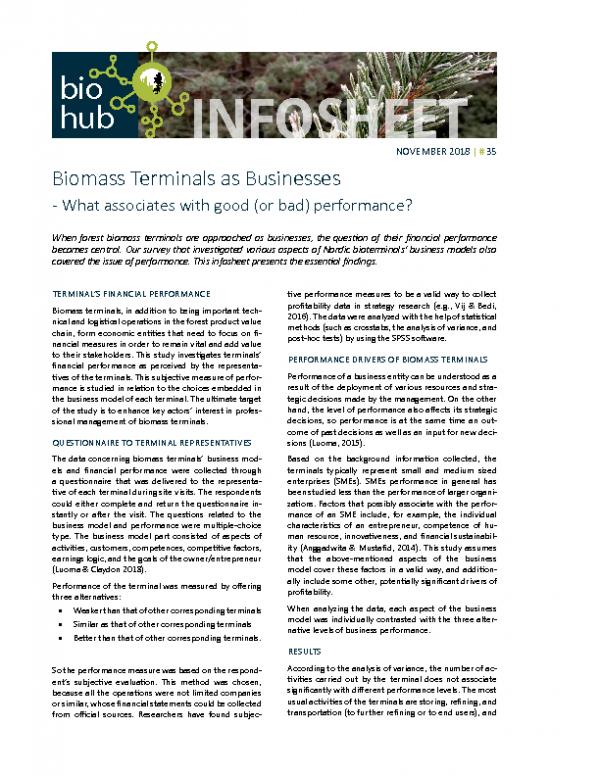 Infosheet No 35 Biomass Terminals as Businesses