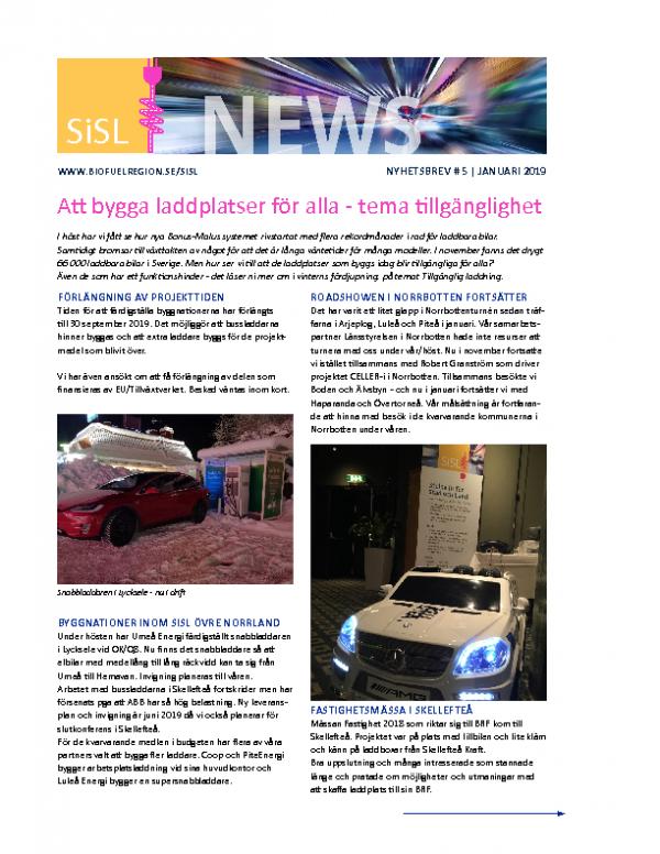 2019 SiSL Nyhetsbrev nr 5