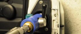 Bild tankning biogas