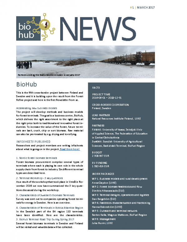 2017 Newsletter BioHub No 1