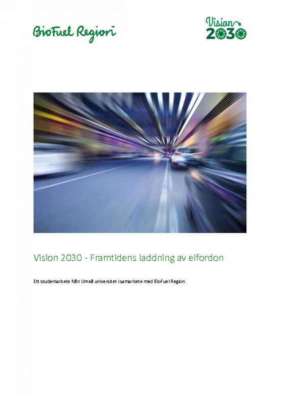 Vision 2030 – Framtidens laddning av elfordon