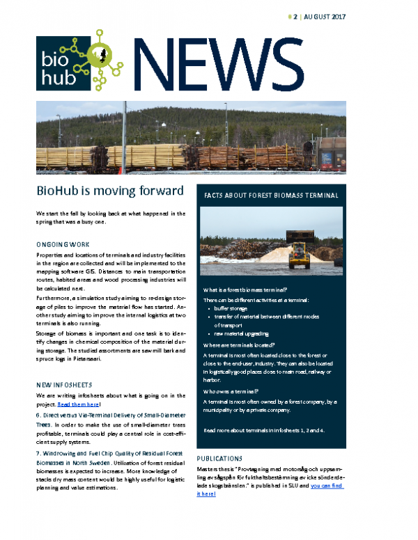 2017 Newsletter BioHub No 2