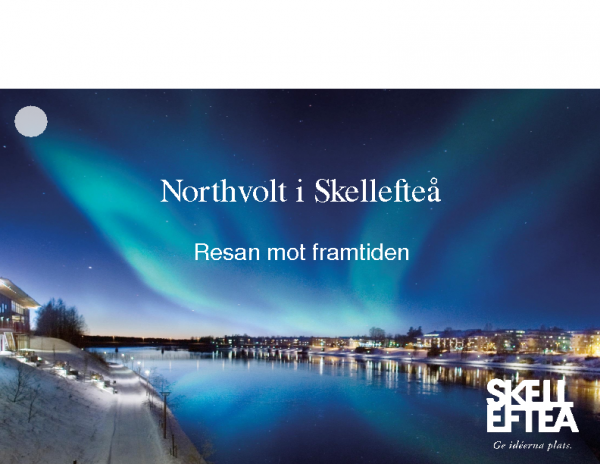 20180516 Kristina Sundin Jonsson Presentation Northvolt 1