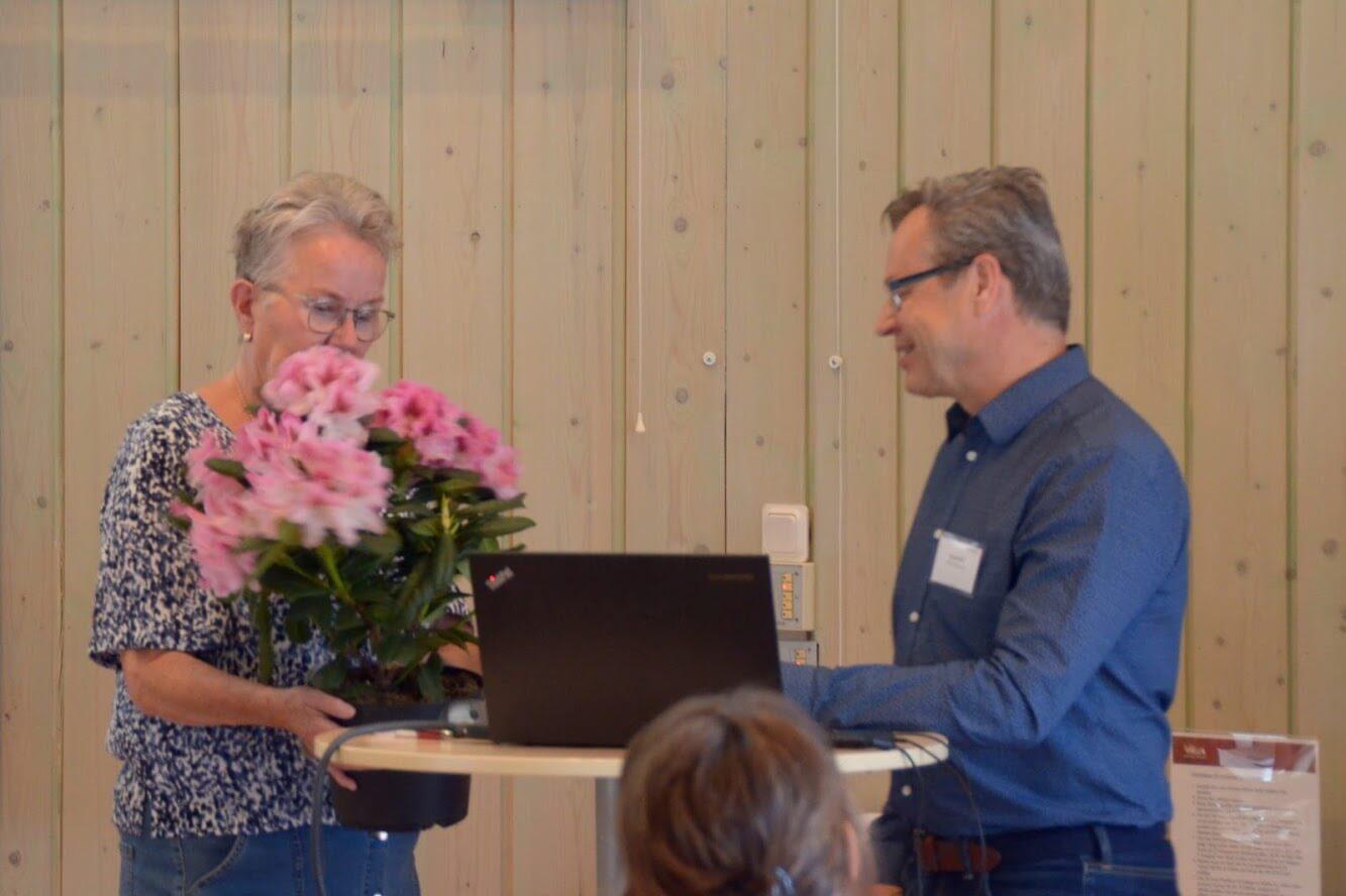 Bengt Aldén avtackades efter sex år i styrelsen och talade varmt om vad BFR har gjort för regionen