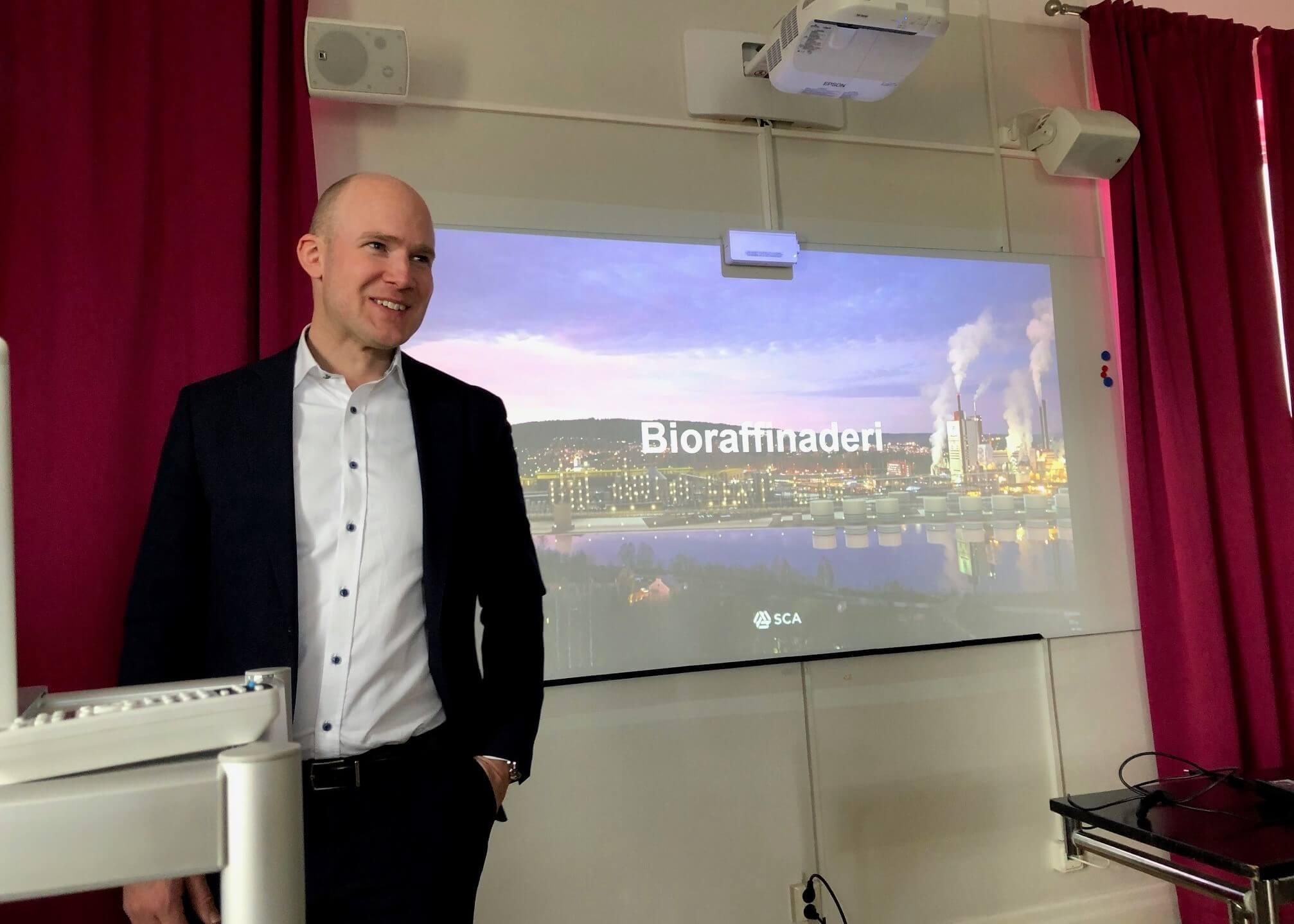 Anders Edling Hultgren, Bioraffinerier SCA