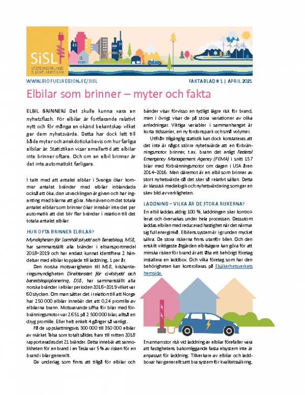 SiSL Mellersta Faktablad 1 – Brand