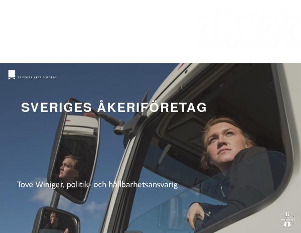 Presentation 190913_Åkerinäringens färdplan mot hållbara transporter