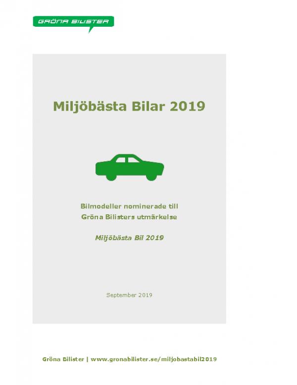 Miljöbästa-bilar-2019