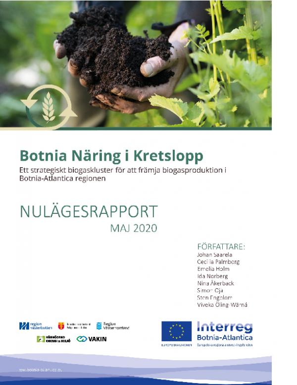 Nulägesrapport Botnia Näring i Kretslopp maj 2020