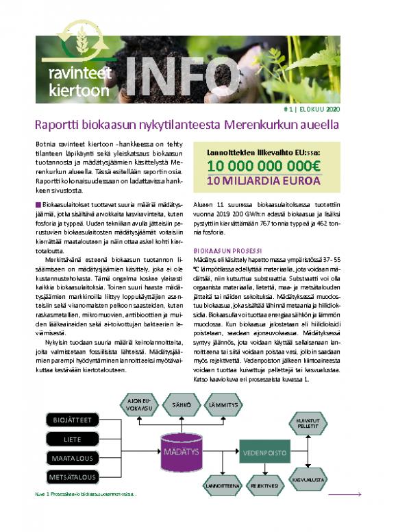 Infosheet 1 Botnia ravinteet kiertoon – FIN