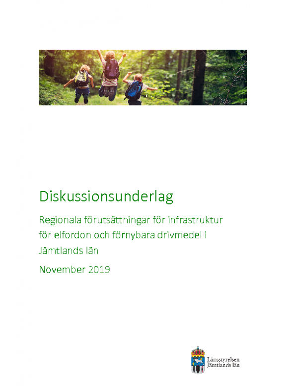 200326 Diskussionsunderlag till regional plan för Jämtlands län
