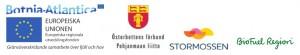Logotype finansiärer Biogas Botnia